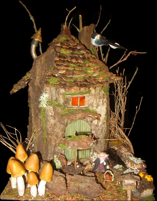 tutoriel pour fabriquer une cabane miniature. Black Bedroom Furniture Sets. Home Design Ideas