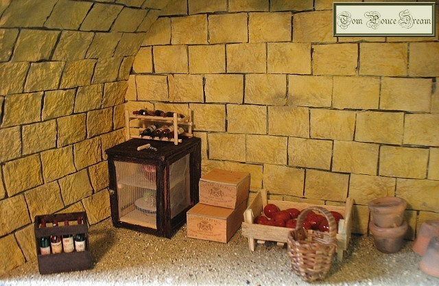 Vitrine miniature la cave dans un tonneau coup - Cave a fromage electrique ...
