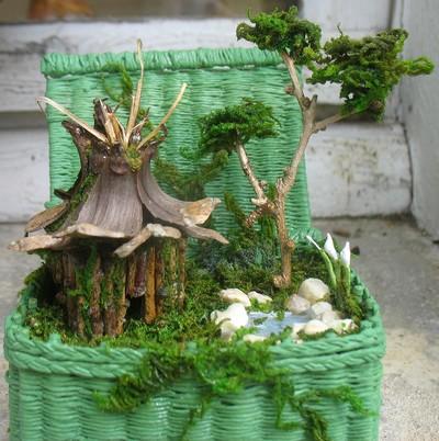 Tom Pouce Dream Les Malles Fantastiques Un Micro Monde Contenu Dans Une Malle Miniature
