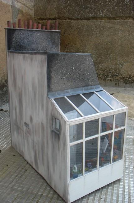 sous les toits de paris diorama miniature de tom pouce dream. Black Bedroom Furniture Sets. Home Design Ideas
